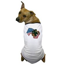 American Eagle Soldier Dog T-Shirt