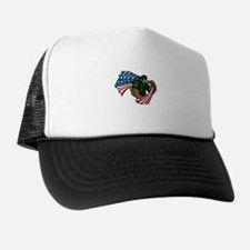 American Eagle Soldier Trucker Hat