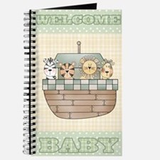 Noah's Ark Welcome Baby Journal