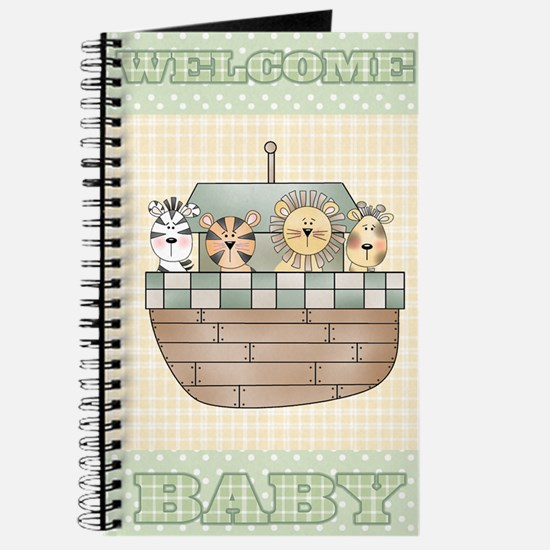 Noah's Ark Welcome Baby Journal