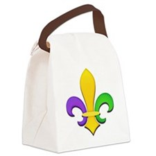 FleurMGColTRs Canvas Lunch Bag