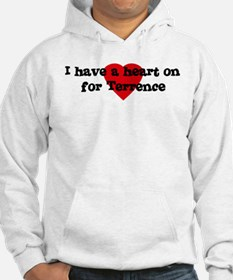 Heart on for Terrence Hoodie