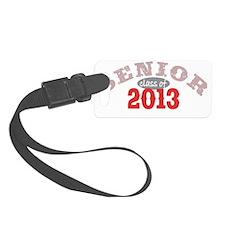 Senior 2013 Red 2 Luggage Tag