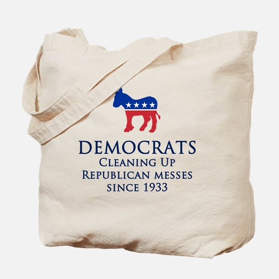 Democrats Cleaning Tote Bag