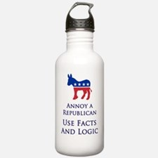 Facts and Logic Water Bottle