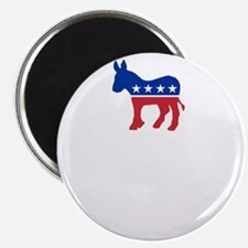 Democrats Cleaning - Black Magnet