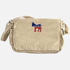 Democrats Cleaning - Black Messenger Bag