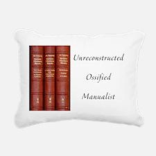 ossified magnet  01 Rectangular Canvas Pillow