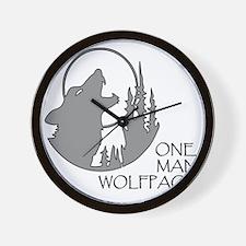 wolfpack Wall Clock