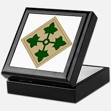 4th Infantry Division Keepsake Box