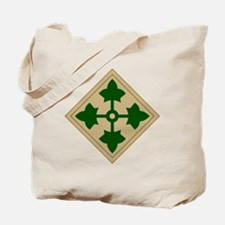 4th Infantry Division Tote Bag