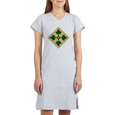 4th Infantry Division Women's Nightshirt