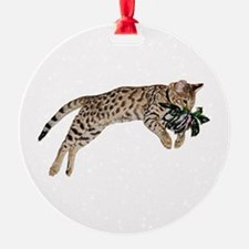 Cat Leap - Ornament