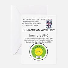 ANC Apology Greeting Card