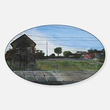 KenellisFLave Sticker (Oval)