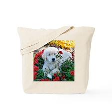 Gp;dem Retriver Puppy Mousepad Tote Bag