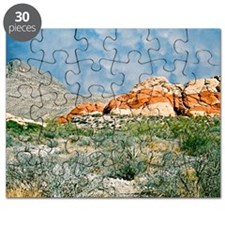 Red Rock Canyon Mousepad Puzzle
