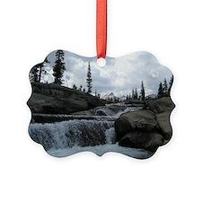 Yosemite - Creekside Picture Ornament