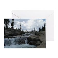 Yosemite - Creekside Greeting Card