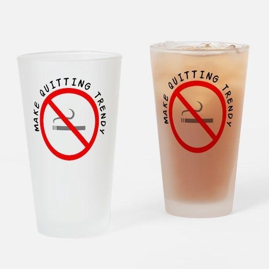 STOP_SMOKING Drinking Glass