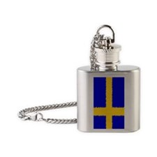Sweden 444 Flask Necklace