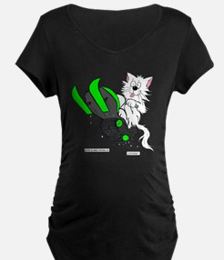 Snowmobile Green for Clear  T-Shirt