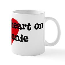 Heart on for Annie Mug