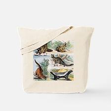 Four Mammals Tote Bag