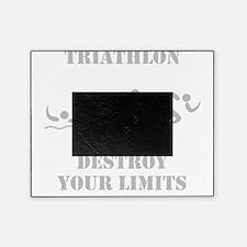 Triathlon Destroy Grey Picture Frame