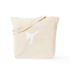 In Range White Tote Bag