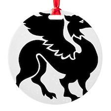 Flying Dragon 6.eps Ornament