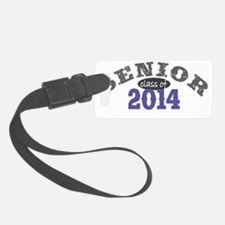 Senior 2014 Purple 1 Luggage Tag