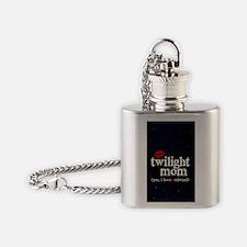 441 TwiMomBlk Flask Necklace