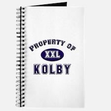 Property of kolby Journal