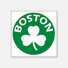 """Boston2 Square Sticker 3"""" x 3"""""""