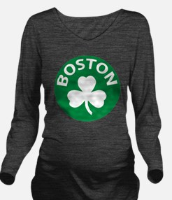 Boston2 Long Sleeve Maternity T-Shirt