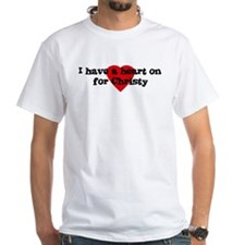 Heart on for Christy Shirt