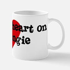 Heart on for Angie Mug