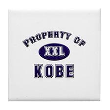 Property of kobe Tile Coaster