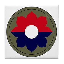 9th Infantry Division Tile Coaster