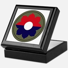9th Infantry Division Keepsake Box