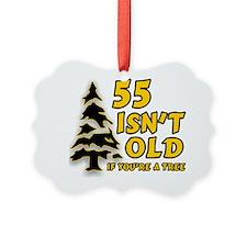 55 Isnt old Birthday Ornament