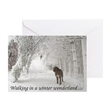 Artemis Christmas Greeting Greeting Cards