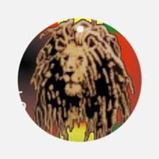ONE LOVE LION Ornament (Round)