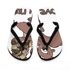 my nuts Flip Flops