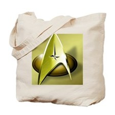 gold star trek Tote Bag
