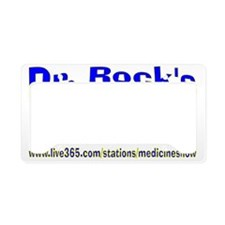Live 365s Dr. Rock 1 License Plate Holder