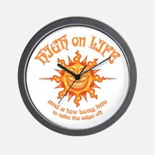 high-on-life2-T Wall Clock