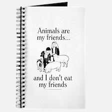 Animals are my friends Journal