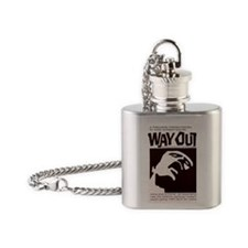 magnet-wayout Flask Necklace
